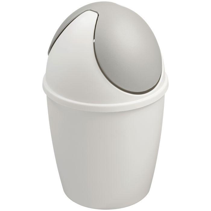 Populære Affaldsspand med vippelåg 1,5 l, hvid HU-66
