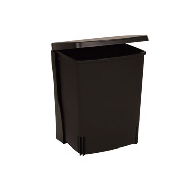 Affaldsspand, Brabantia, sort, 10 l
