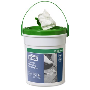 Wet Wipe Tork Overflader spand Handy Bucket