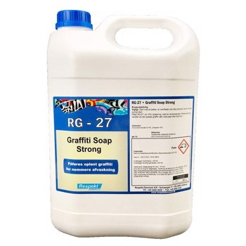 RG-27 graffiti Soap Strong 5 liter