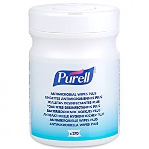PURELL Antimikrobielle Wipes Plus 270ark/bøtte