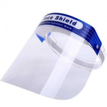 VISIR/FACE SHIELD, Transparant BLÅ