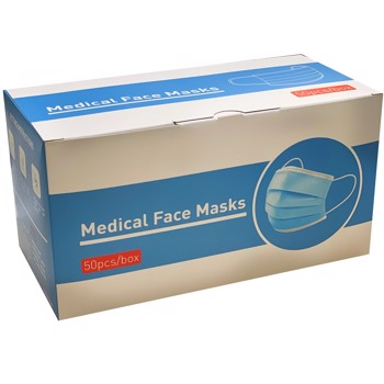 Mundbind  MEDICAL FACE MASKS 50stk/pak TYPE II R