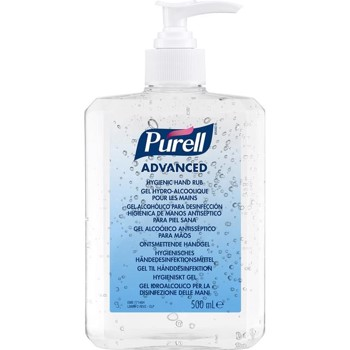Purell Hånddesinfektion 70% Gel med pumpe, 500ml