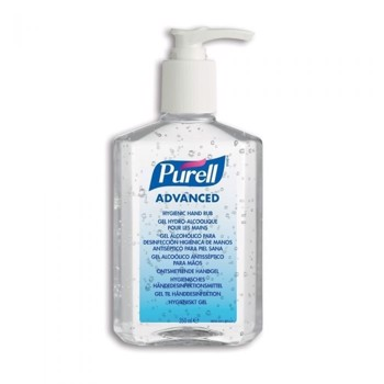 PURELL hånddesinfektion med pumpe, gel  350ml