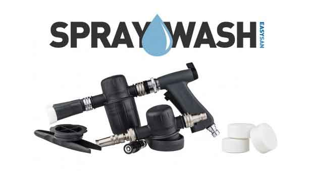 SprayWash Systemet