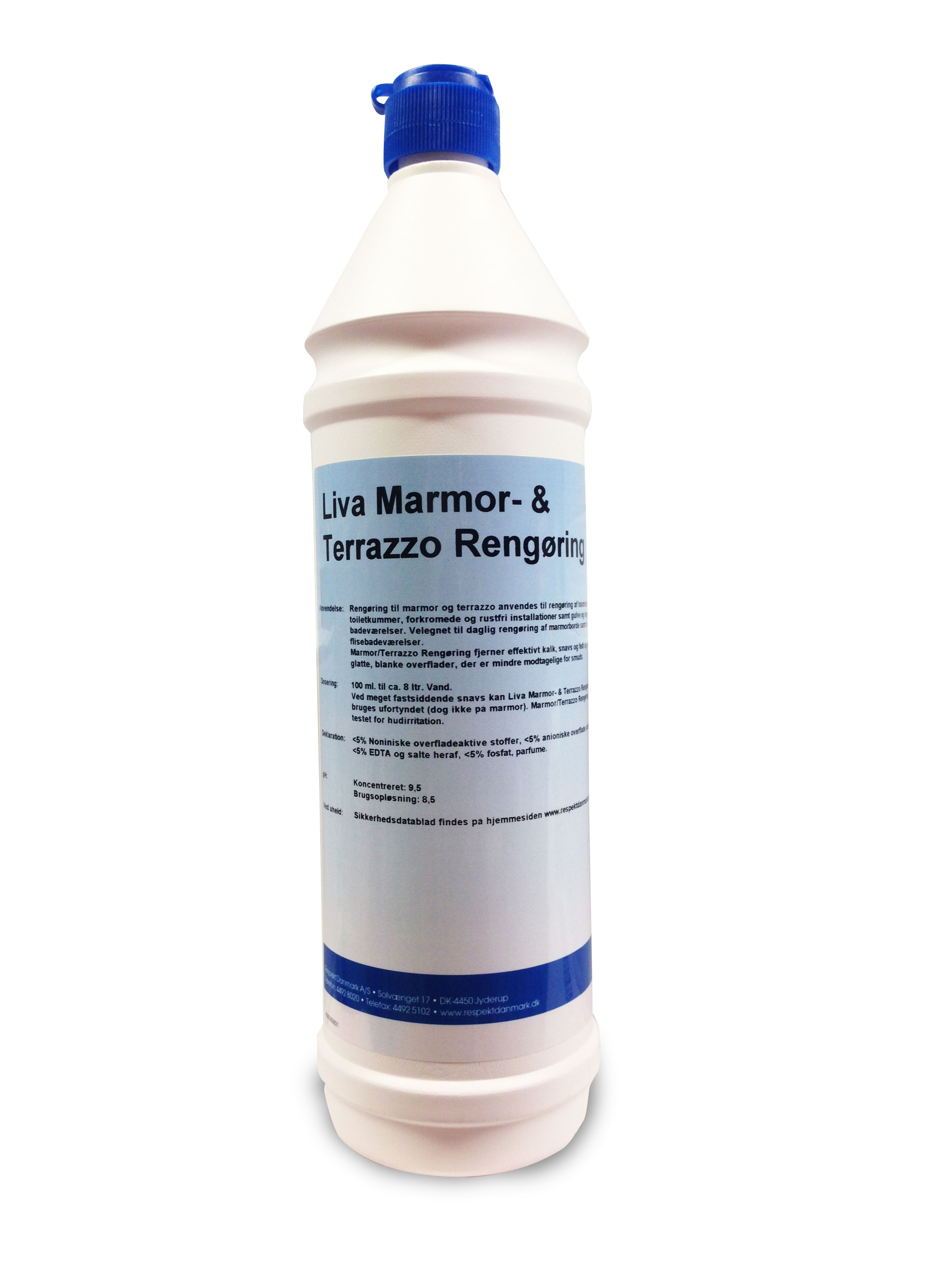 marmor rengøring kalk