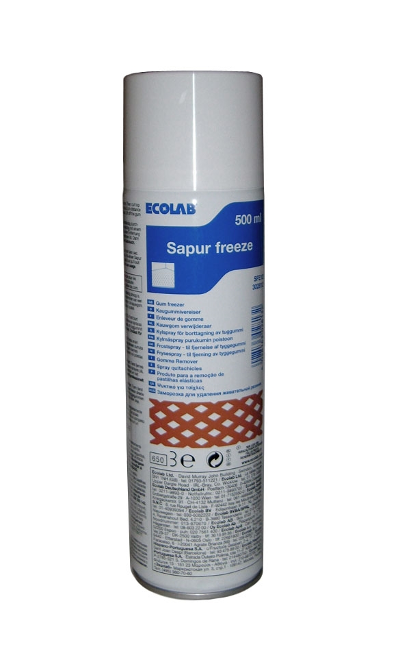 Sapur tæpperens spray