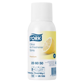 Tork Airfreshener Spray Citrus 75 ml, 12 stk